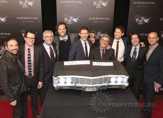 Cast Supernatural Interview 200