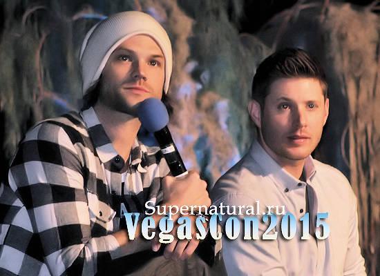 Vegas Con 2015 фото и видео Дженсена, Джареда, Моргана