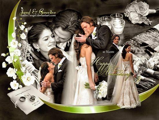 Счастливого Дня Свадьбы, Джаред и Женевьев!
