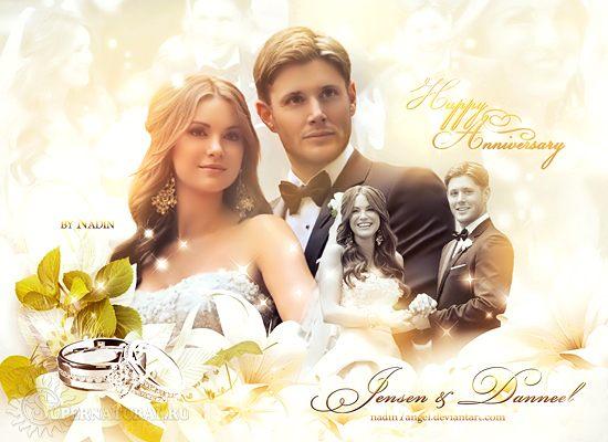Поздравляем Дженсена и Дэннил с Годовщиной Свадьбы!