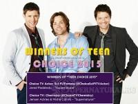 Сверхъестественное: победа на Teen Choice Awards